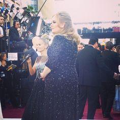 Oscars 2013:  Adele, photo by theacademy