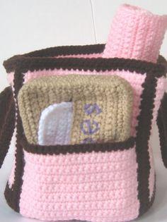 1000+ images about Crochet Diaper bag on Pinterest ...