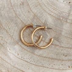 Cybele Golden Hoops - twininas | Unique Handmade Jewellery & Accessories! Handmade Jewellery, Jewelry Accessories, Hoop Earrings, Unique, Handmade Jewelry, Jewelry Findings, Handcrafted Jewelry, Circle Earrings, Handmade Jewelry Findings