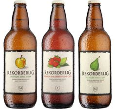 rekorderlig cider! the Strawberry-Lime is the best!   http://www.rekorderlig.com/us/