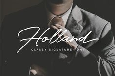 Say hello to Holland Free Script Typefaces! This is an elegant and unique, charming typeface which is perfect for photography, signature, branding. It's totally free, so you can add it to your fonts collection right now just a click! Handwritten Fonts, Script Fonts, New Fonts, Script Alphabet, Typography Alphabet, Typeface Font, Typography Fonts, Classy Fonts, Stylish Fonts
