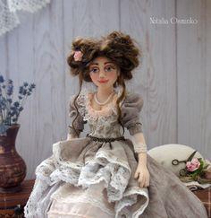 Купить Анелия - единственный экземпляр, авторская кукла, наталья осминко, кукла в подарок, кукла в коллекцию