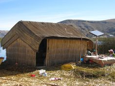 The Peruvian reed islanders living on Lake Titicaca subsist on a very low income, yet they have installed solar panels throughout the 30 some different floating reed islands.
