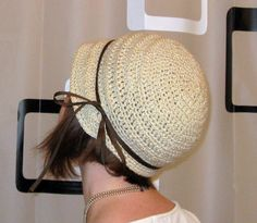 Flapper hat! Pattern link included :) - CROCHET