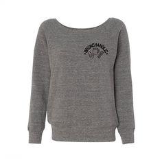 Brunchaholic Wideneck Sweatshirt, Brunch Top, Mimosa Shirt ($28) ❤ liked on Polyvore featuring tops, hoodies, sweatshirts and shirt top