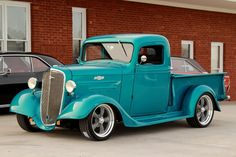 Chevrolet Pick-Up Truck✿ Vintage Pickup Trucks, Antique Trucks, Vintage Cars, Antique Cars, Hot Rod Trucks, Gm Trucks, Cool Trucks, Lifted Trucks, Lifted Chevy