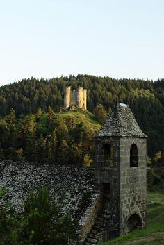 Château d'Alleuze, France