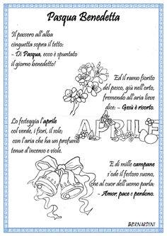 """Poesia """" Pasqua Benedetta"""" di Bernardini"""