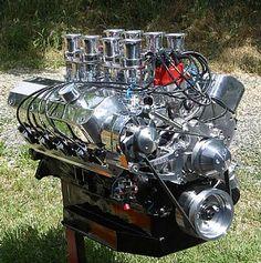 big baddass engines   545 Ford stroker engine