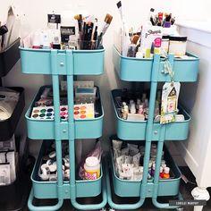 Craft Spaces: Tour + Tips with Lorilei Craft Room tour and tips Dorm Room Crafts, Space Crafts, Craft Space, Home Art Studios, Art Studio At Home, Homemade Wall Decorations, Room Decorations, Craft Room Design, Design Room