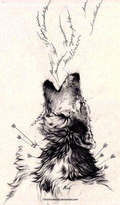 girly black tattoos, across back tattoos, cross with jesus tattoo, best simple tattoo designs - Tattoo MAG Wolf Tattoo Design, Tattoo Wolf, Howling Wolf Tattoo, Wolf Tattoo Meaning, Simple Wolf Tattoo, Wolf Tattoo Sleeve, Tattoo Arrow, Wolf Tattoo Back, Wolf Tattoos For Women