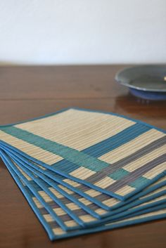 Placemats by handmadebyalissa, via Flickr