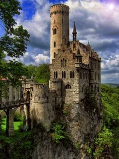 Lichtenstein Castle - Germany - The original Cinderella Castle