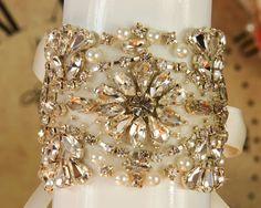22 Rhinestone Crystal Bridal Sash Wedding Sash Belt by VioGemini