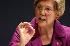 U.S. Senator Elizabeth Warren (D-MA) takes part in the Washington Ideas Forum in Washington, October 1, 2015.