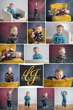 2 Year Session - Conor - Fun and energetic boy's 2 year old photo session in the studio of Visions By Carol Photography. 2 Year Olds, Photo Sessions, Old Photos, Fun, Photography, Antique Photos, Vintage Photos, Photograph, Fotografie