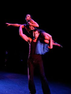 Forever Tango Rehearsals - Karina Gets a Lift from Maks