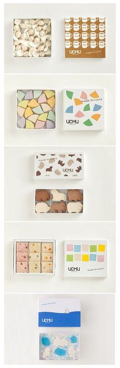 //UCHU wagashi// yummy eats #packaging PD: