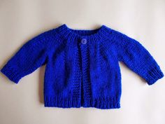 Boy or Girl Top Down Baby Jacket