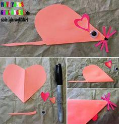 Kalpten fare yapalım Plastic Cutting Board, Crafts, School, Modern, Toddler Girls, Infant Crafts, Light House, Children, Manualidades
