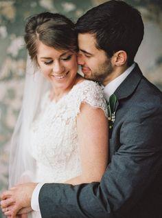 romantic winter wedding | JoPhoto | Glamour & Grace