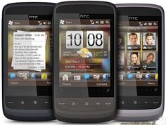 HTC designed another windows smartphone, the HTC Touch2 and it's a very good looking touchscreen smartphone.