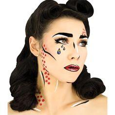 Pop Art Makeup, Makeup Box, Crazy Makeup, Eye Makeup, Makeup Brushes, Makeup Ideas, Fish Makeup, Doll Makeup, Makeup Stuff