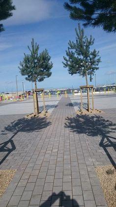 Greystones Marina, Greystones, Co Wicklow Landscape Architects, Sidewalk, Side Walkway, Walkway, Walkways, Pavement