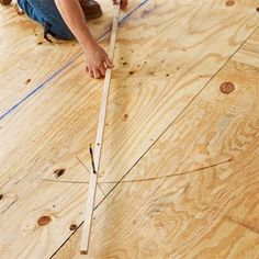 Photo: Wendell T. Webber | thisoldhouse.com | from How to Install a Herringbone Floor