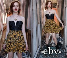 Vintage 80s High Waisted Baroque Mini Skirt M L by shopEBV on Etsy, $40.00