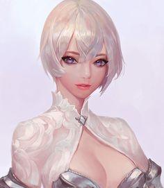 ArtStation - white, Chocofing R