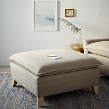 Ottomans, Poufs, Floor Poufs, Upholstered & Modern Ottomans   west elm