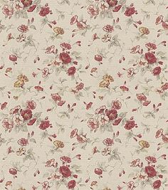 Waverly Home Decor Fabric Fairhaven Rose