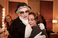 The legendary Elaine Stritch and Patti LuPone