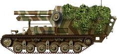 Baukommando Becker built 15cm s.FH 13/1 (Sf) auf GW Lorraine Schlepper(f)