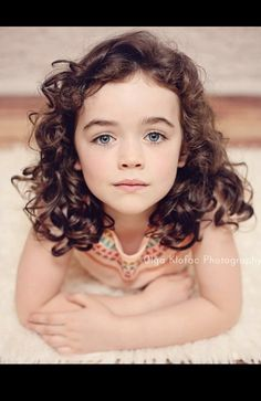 Beautiful 6 year old girl with dark long curly hair, professional baby & child photographer, charlestown mayo Little Girl Curly Hair, Curly Hair Baby, Little Girl Haircuts, Brown Curly Hair, Curly Hair Cuts, Long Curly Hair, Long Hair Cuts, Curly Girl, Curly Hair Styles