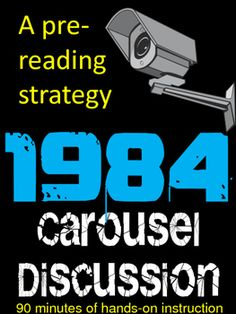 Reading 1984 with students provides so many opportunities for rich classroom conversations. In order to have these conversations, however, sometimes students need a little structure! Here is a pre-reading activity designed to get your students out of their seats to move, talk, think, and write.