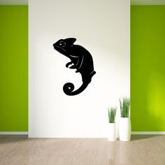 Our Chameleon Reptile Wall Decals are applied just like a sticker. It comes ready to apply; follow the easy instructions included in your package and... you are ready to go! Your home and room decor p