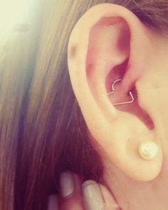Heart daith piercing ❤️