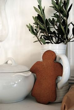 gingerbread- love this cookie cutter!