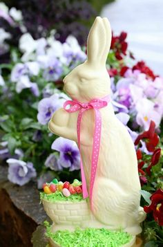 Corner Cafe & BBC White Chocolate Easter Bunny