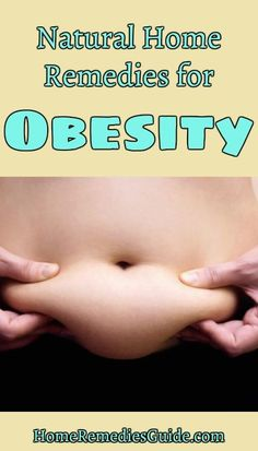 Natural Home Remedies for Obesity