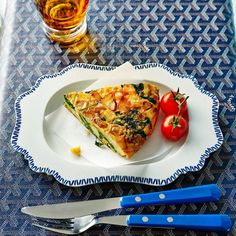 New potato and spinach frittata - Recipes Spinach Frittata, Spinach Egg, Frittata Recipes, Quiche, Veggie Recipes, Appetizer Recipes, Cooking Recipes, Picnic Recipes, Cooking Rice
