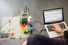 Coding as composing: Music students work with robots to create a new kind of performance