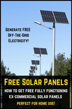 Solar Power Tips. Deciding to go environment friendly by changing over to solar power is obviously a good one. Solar panel technology is now being viewed as a solution to the worlds power demands. Free Solar Panels, Solar Energy Panels, Solar Panels For Home, Best Solar Panels, Cost Of Solar Panels, Cheap Solar Panels, Off The Grid, Alternative Energie, Solar Roof Tiles