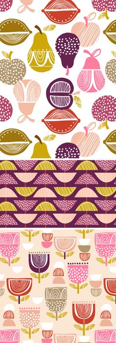 wendy kendall designs – freelance surface pattern designer » fruit salad