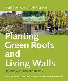 Book - Planting Green Roofs and Living Walls