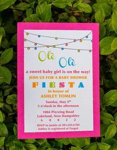 Cinco De Mayo Fiesta Baby Shower by HeartsContentDesigns on Etsy, $2.50