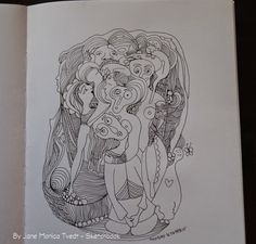 Jane Monica Tvedt - Empire of heart: Sketchbook & drawings is just another way of keepi...