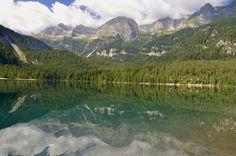 Lake Tovel, Non Valley, Trentino.